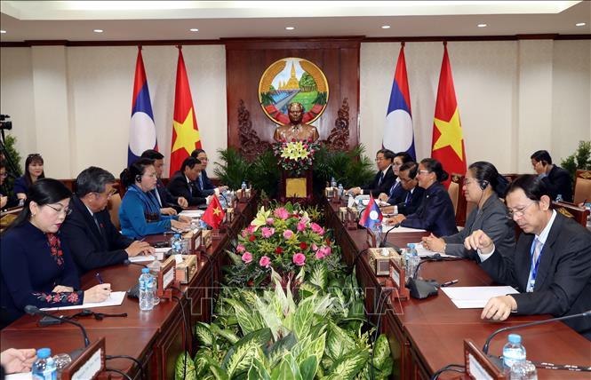 Tăng cường hợp tác giữa Quốc hội hai nước Việt Nam - Lào