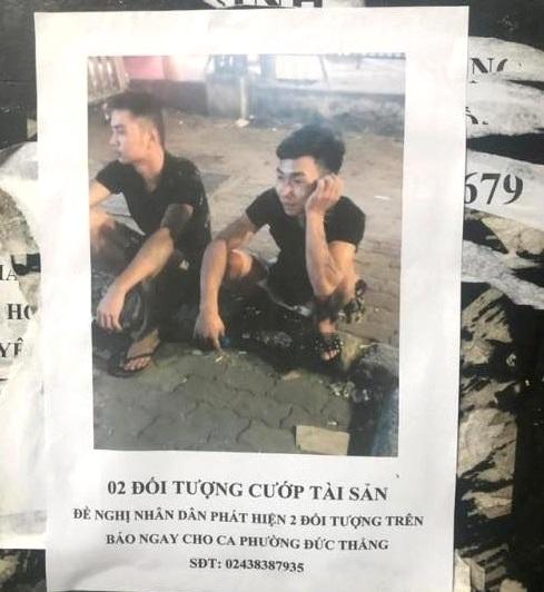 Truy tìm 2 nghi can giết người, cướp tài sản tài xế Grab