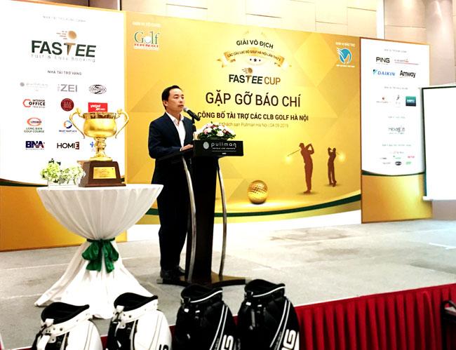 34 CLB golf sẽ tranh tài tại Giải vô địch các CLB Golf Hà Nội