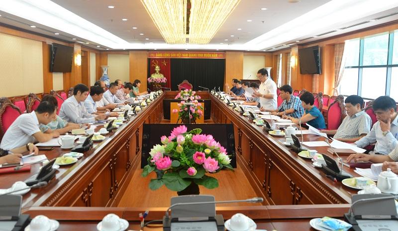 Tiếp tục tăng cường phối hợp giữa Ban Nội chính Trung ương và Đảng ủy Khối Doanh nghiệp Trung ương