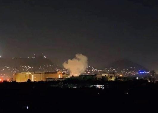 Rocket rơi trúng Đại sứ quán Mỹ
