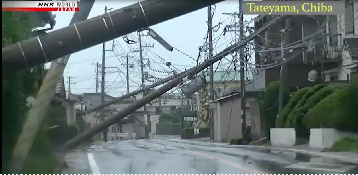 Siêu bão Faxai gây nhiều thương vong tại Nhật Bản 🎥