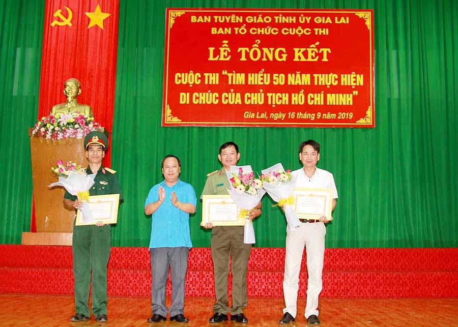 """Gia Lai: Gần 45.000 bài dự thi """"Tìm hiểu 50 năm thực hiện Di chúc của Chủ tịch Hồ Chí Minh"""""""