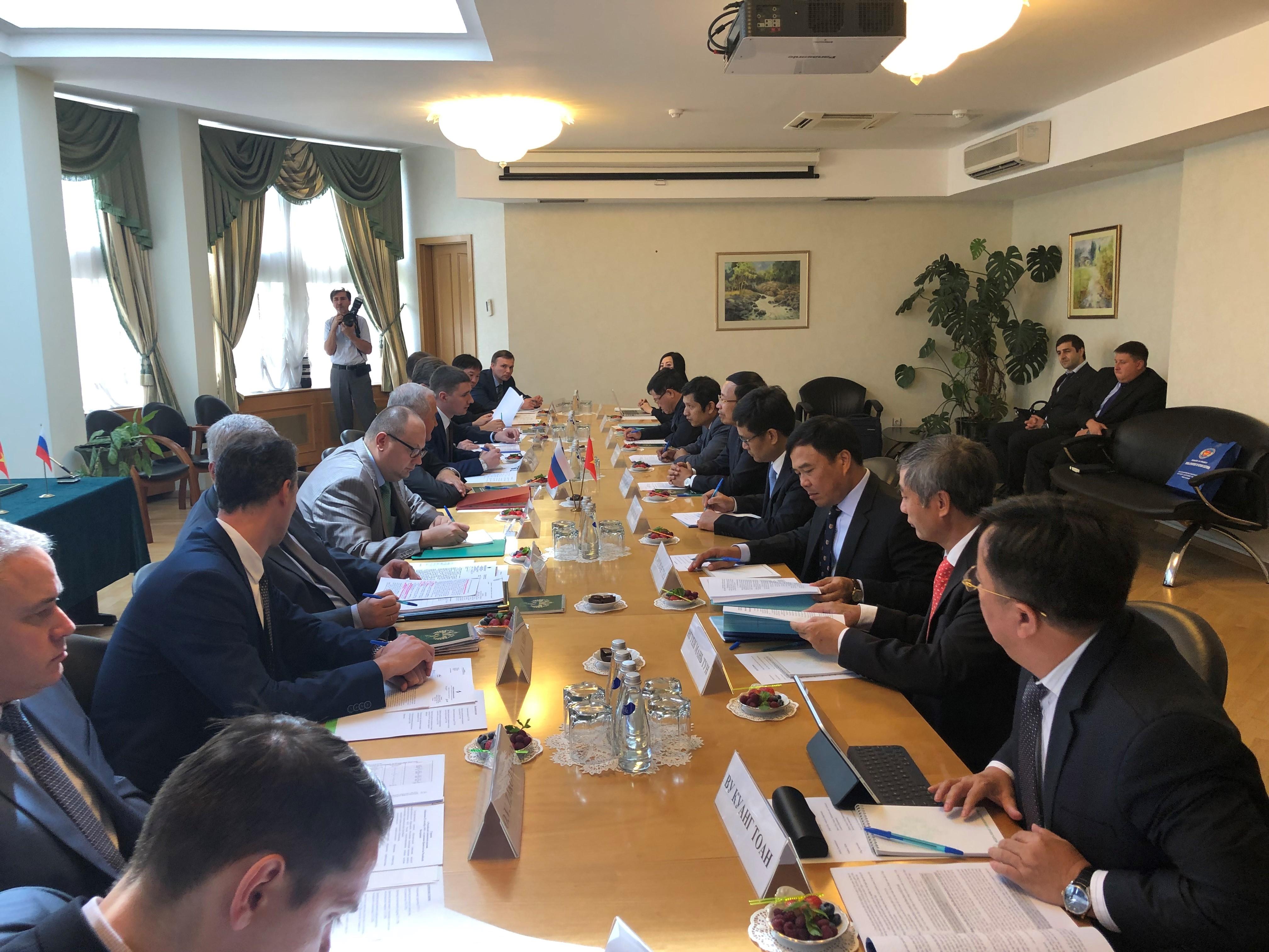 Việt Nam – Nga: Tăng cường hợp tác trong lĩnh vực hải quan