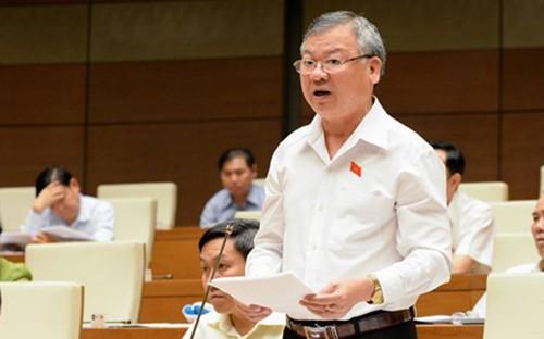 Cho thôi nhiệm vụ đại biểu Quốc hội đối với ông Hồ Văn Năm