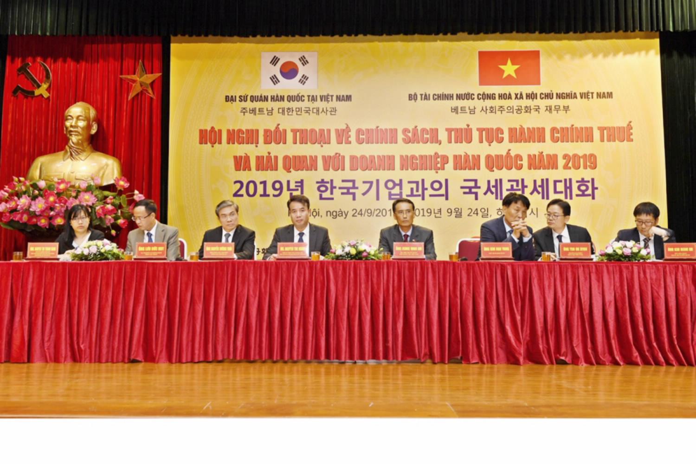 Tháo gỡ vướng mắc về thuế, hải quan cho doanh nghiệp Hàn Quốc