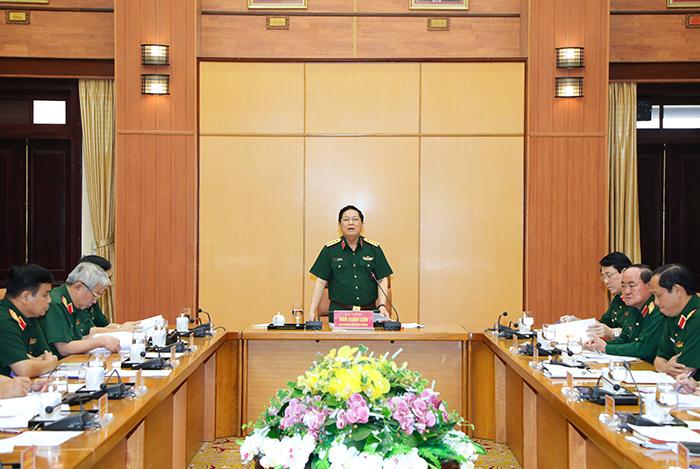 Xây dựng các văn kiện đại hội Đại hội Đảng bộ Quân đội chất lượng, đúng tiến độ