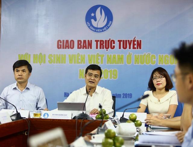 Nhiều hoạt động của sinh viên Việt Nam ở nước ngoài hướng về Tổ quốc
