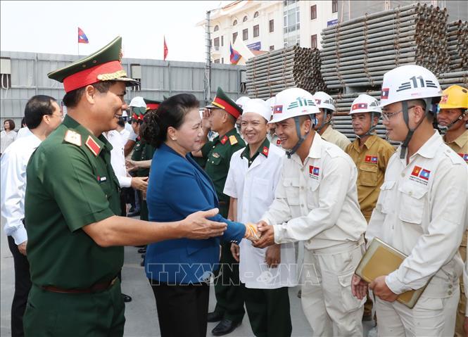 Chủ tịch Quốc hội kết thúc tốt đẹp chuyến thăm Lào   🎥