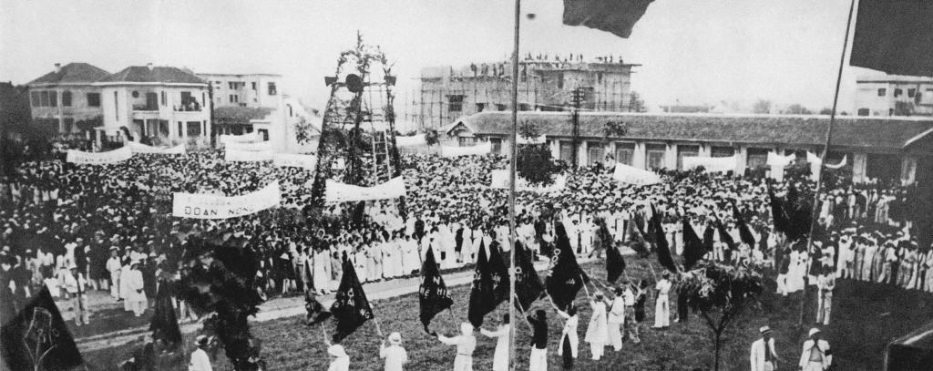 Cuộc mít tinh kỷ niệm ngày Quốc tế Lao động 1-5 ở Hà Nội