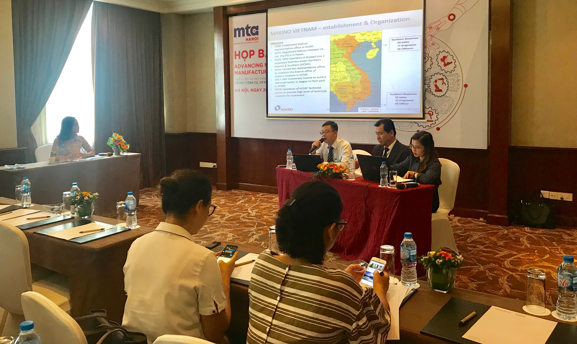 158 doanh nghiệp tham gia Triển lãm MTA HANOI 2019