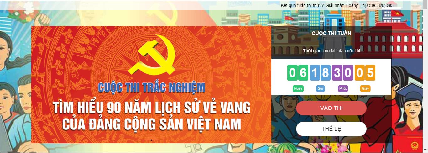 [Infographic] 362.245 lượt người dự thi tìm hiểu lịch sử Đảng