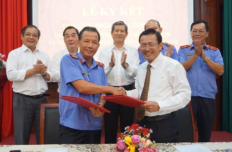 TP Hồ Chí Minh: TAND Cấp cao và VKSND Cấp cao ký kết Quy chế phối hợp công tác