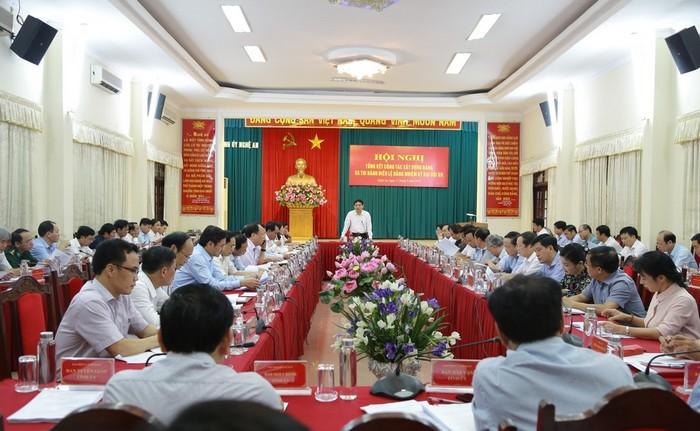 Nghệ An: Thành lập 4 Tiểu ban Đại hội Đảng bộ tỉnh lần thứ XIX