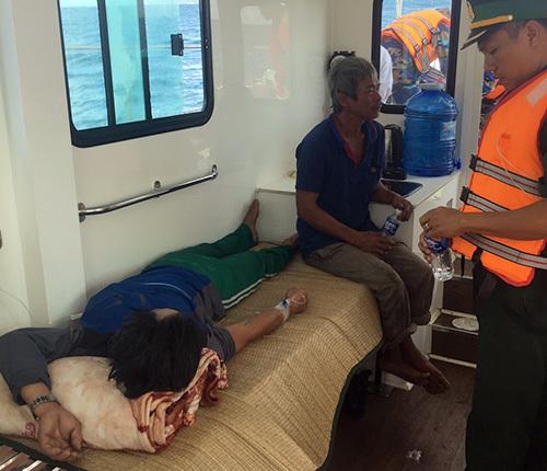 Đà Nẵng: Sức khỏe ba thuyền viên bị ngộ độc đã ổn định