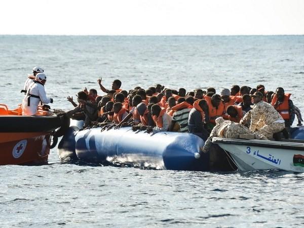 Libya giải cứu gần 500 người di cư