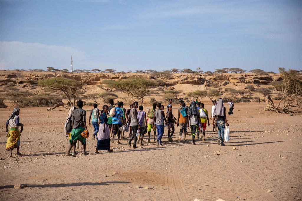 7.400 người chết trên các tuyến di cư châu Phi