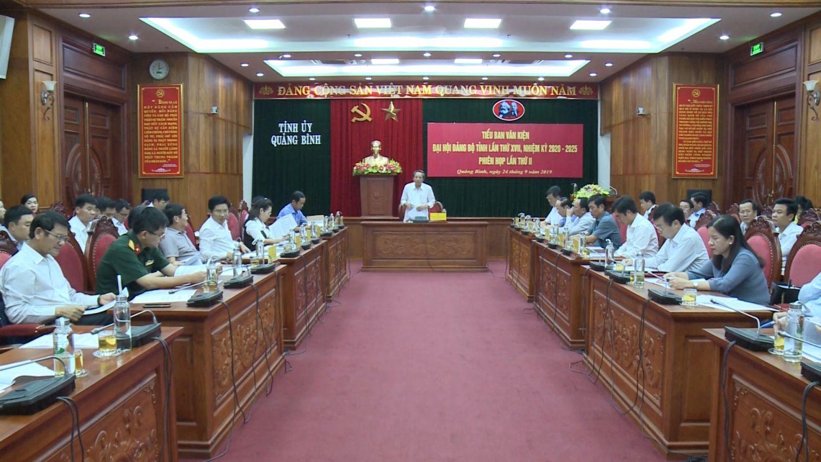 Hải Phòng, Quảng Bình triển khai công tác chuẩn bị Đại hội Đảng