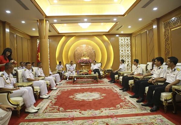 Hải quân Việt Nam và Thái Lan tăng cường hợp tác