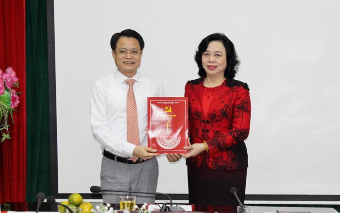 Hà Nội: Nhân sự mới tại Hội Chữ Thập đỏ, quận Long Biên
