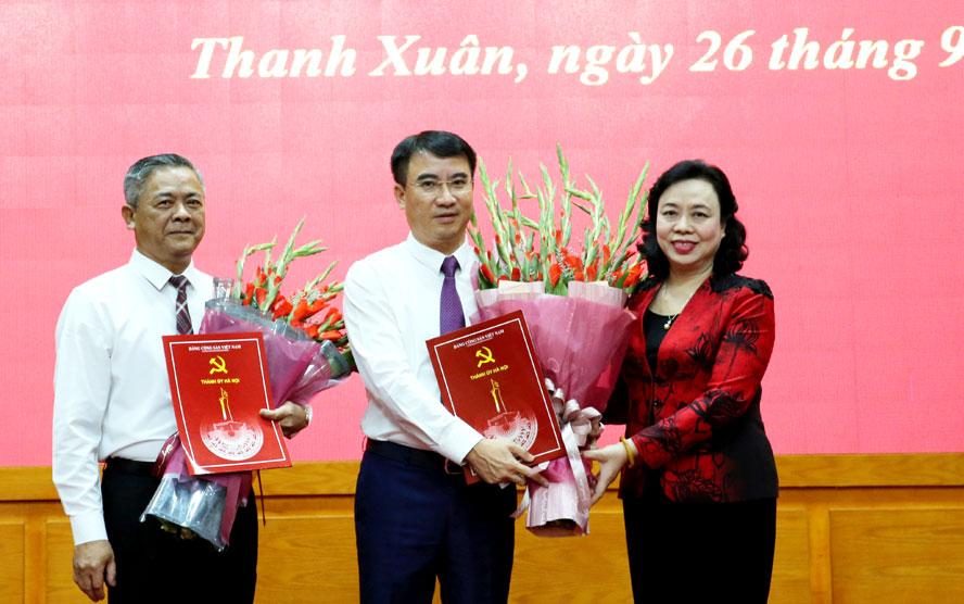 Hà Nội: Quận ủy Thanh Xuân có Bí thư mới