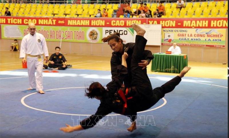 Hà Nội giành ngôi nhất toàn đoàn giải vô địch Pencak Silat toàn quốc