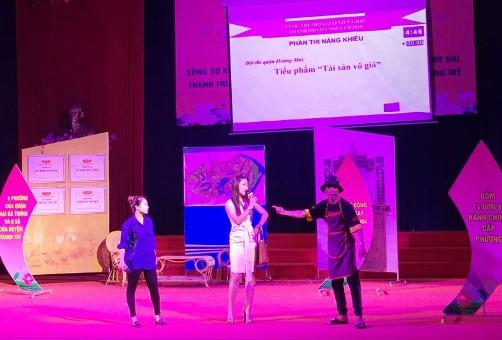 Hà Nội: Sôi nổi cuộc thi Hòa giải viên giỏi