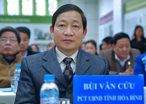 Cảnh cáo Phó Chủ tịch Thường trực UBND tỉnh Hòa Bình
