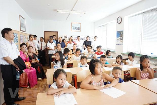 Lan tỏa phong trào học tiếng Việt tại Séc