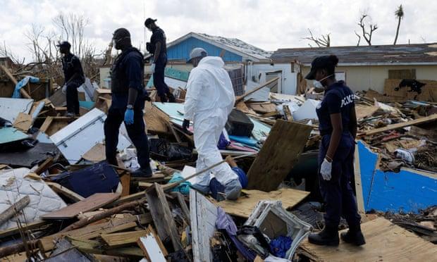 Vẫn còn 2.500 người mất tích sau bão Dorian