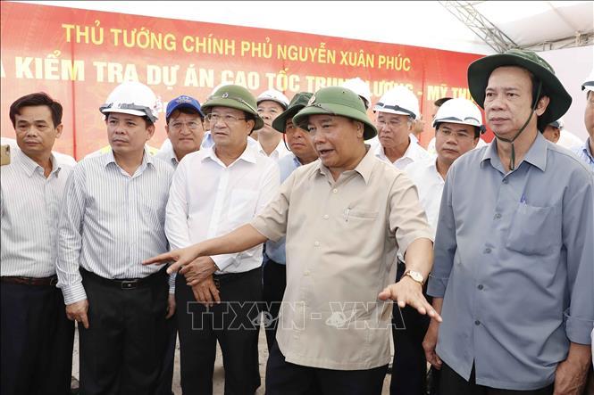 Đảm bảo tiến độ thông tuyến Trung Lương – Mỹ Thuận vào cuối 2020