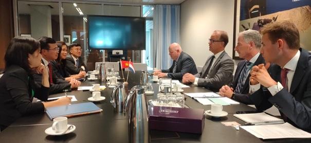 Việt Nam -  Hà Lan thúc đẩy hợp tác song phương trong hai lĩnh vực mới
