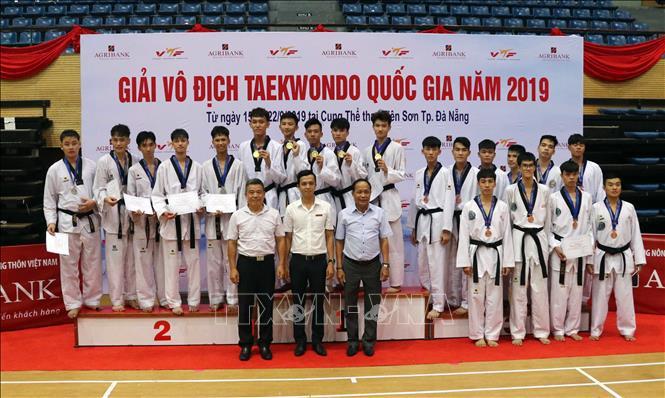 29 bộ huy chương được trao tại Giải Vô địch Taekwondo quốc gia năm 2019