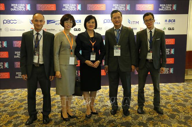 Việt Nam tham dự Đối thoại Toàn cầu CSIS 2019 tại Indonesia