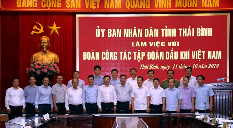 PV GAS đẩy nhanh tiến độ các dự án tại Thái Bình