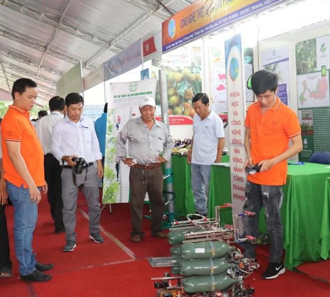 200 đơn vị tham gia Chợ công nghệ - thiết bị đồng bằng sông Cửu Long