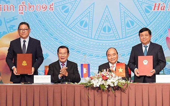 Đưa kim ngạch thương mại Việt Nam - Campuchia vượt con số 10 tỷ USD