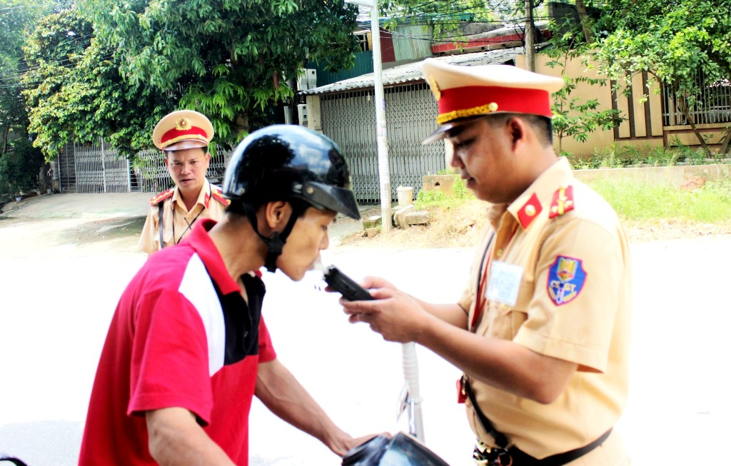 Phú Thọ tăng cường đảm bảo trật tự an toàn giao thông