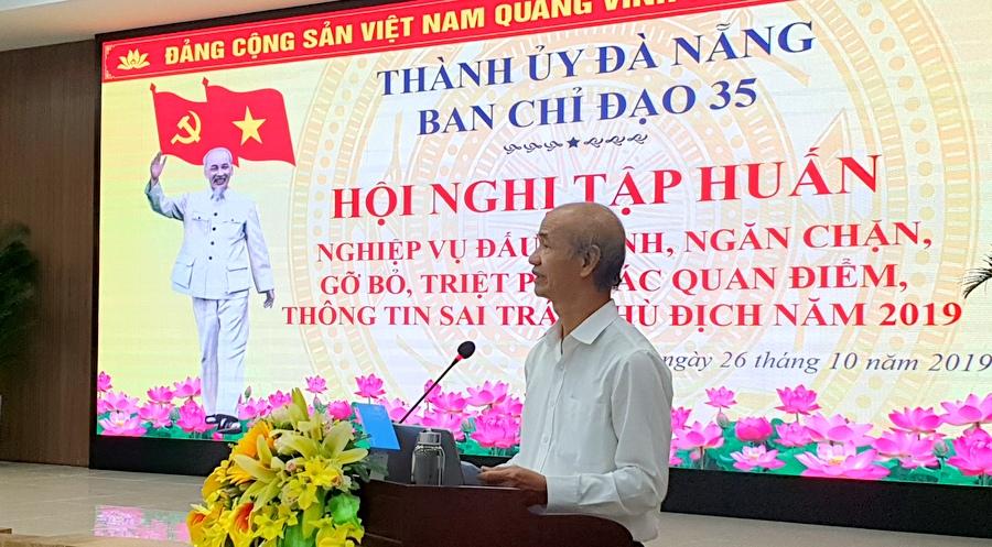 Đà Nẵng tăng cường kỹ năng bảo vệ nền tảng tư tưởng của Đảng
