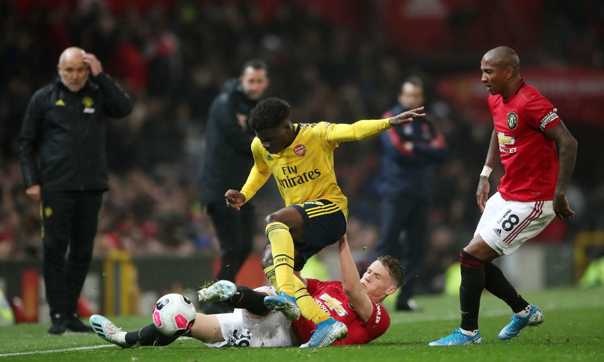 Man Utd và Arsenal chia điểm tại Old Trafford