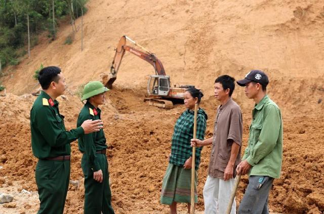 Ấm áp tình quân dân Na Chừa