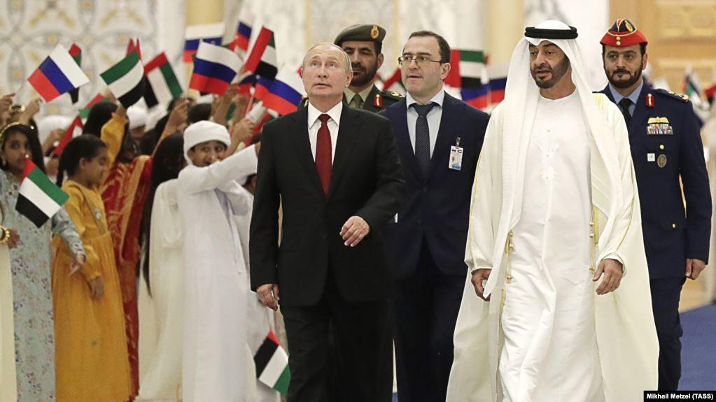 UAE và Nga ký các thỏa thuận hợp tác trị giá 1,4 tỷ USD