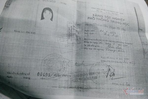 """Thông tin chính thức về vụ việc """"mượn"""" Bằng tốt nghiệp THPT của chị gái"""