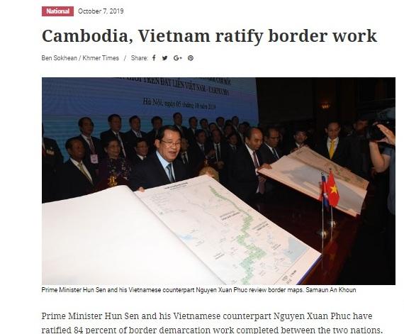 Truyền thông Campuchia đánh giá cao chuyến thăm của Thủ tướng Hun Sen