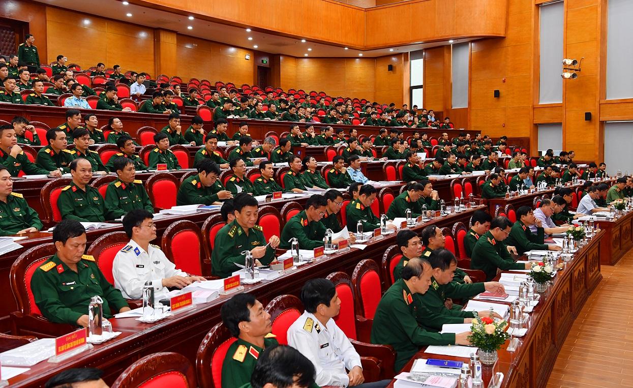 Phát huy vai trò đội ngũ cán bộ chính trị trong Quân đội