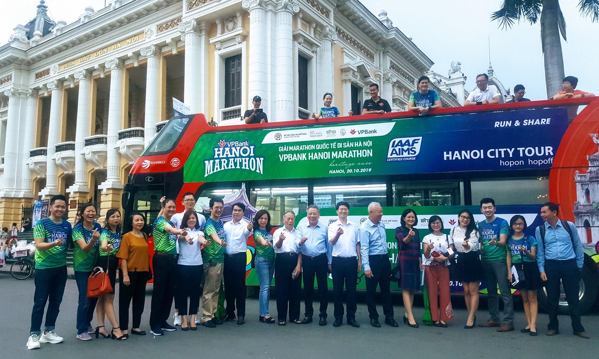 Hơn 7.000 người tham dự Giải chạy Marathon quốc tế di sản Hà Nội năm 2019