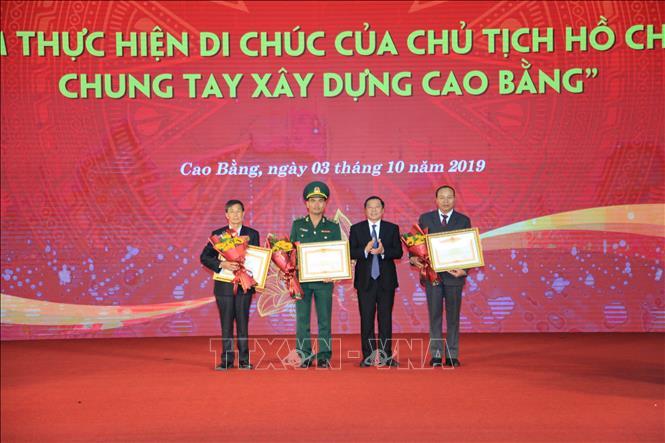 """""""50 năm thực hiện Di chúc của Chủ tịch Hồ Chí Minh, chung tay xây dựng Cao Bằng"""""""