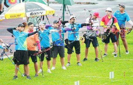Giải vô địch Bắn cung toàn quốc năm 2019: Đoàn Hà Nội giành Huy chương Vàng