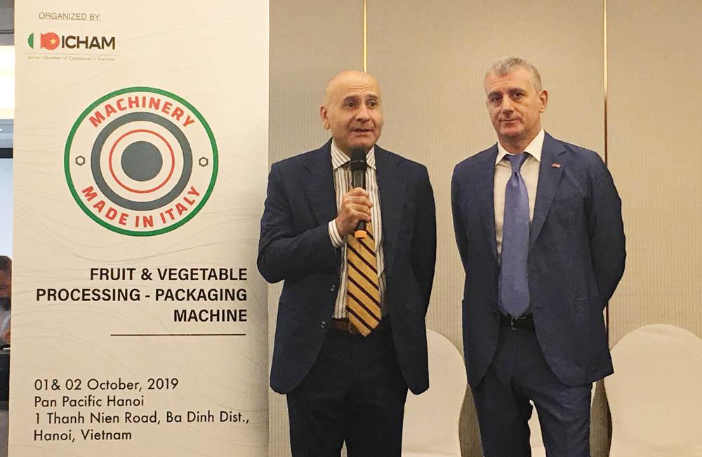 Việt Nam là thị trường chiến lược của các doanh nghiệp Italy