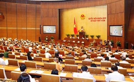 Trình bày, tiếp thu một số dự án luật tại Phiên họp 38 Ủy ban Thường vụ Quốc hội